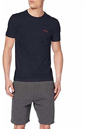 HUGO BOSS Men's Tee Curved Plain T-Shirt