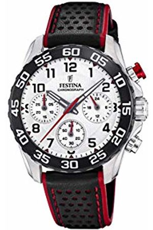 Festina Boys Chronograph Quartz Watch with Leather Strap F20458/1