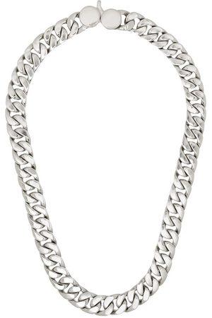 TOM WOOD Cuban curb chain link necklace - Metallic