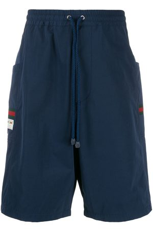 Gucci Logo patch track shorts