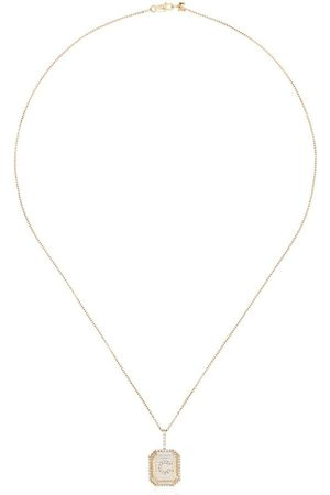 Mateo Women Necklaces - 14kt diamond C initial necklace