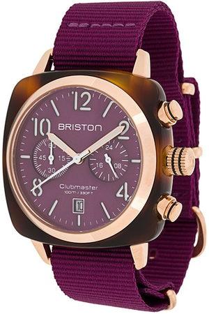 Briston Clubmaster Classic 40mm watch - Cardinal Grape