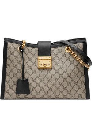 Gucci Padlock medium GG shoulder bag - Neutrals