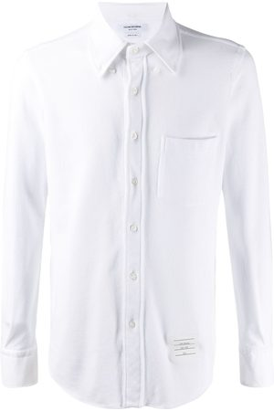 Thom Browne Classic pique long sleeve shirt