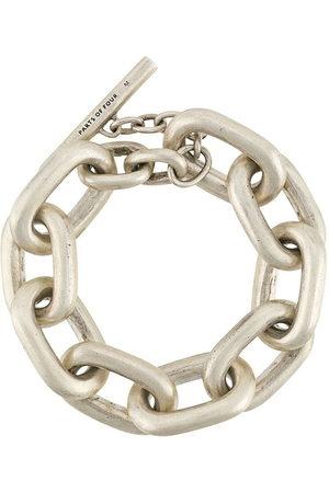 Parts of Four Oversized chain bracelet