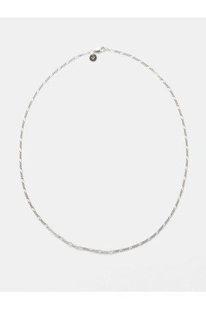 Tom Wood Men Necklaces - Figaro Sterling- Necklace - Mens