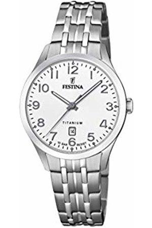 Festina Womens Analogue Quartz Watch with Titanium Strap F20468/1