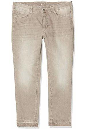 Mac Women's Angela Pipe Fringe Glam Straight Jeans