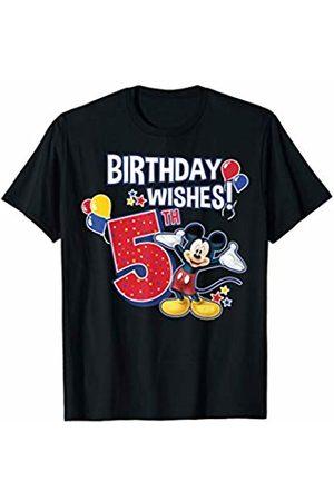 Disney Mickey & Friends 5th Birthday Wishes T-Shirt