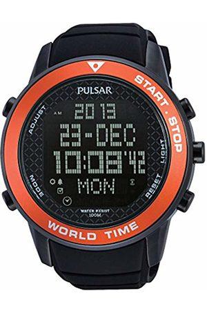 Pulsar Men's Digital Quartz Watch with Rubber Strap - PQ2031X1