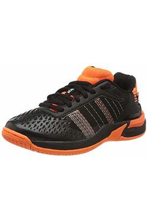 Kempa Unisex Kids' Attack Contender Junior Handball Shoes, (Schwarz/Fluo 07)