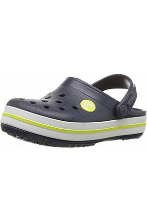 Crocs Crocband Clog K, Unisex-Child Clogs, (Navy/Citrus 42k)