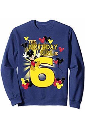 Disney Mickey & Friends 6 Year Old Birthday Girl Sweatshirt