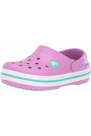 Crocs Unisex Kid's Crocband Clog K, (Violet-Pool 5Pe)