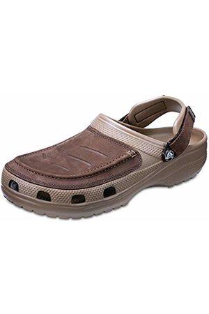 Crocs Men's Yukon Vista Clogs, (Espresso/Khaki 22y)