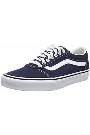 Vans Men's Ward Canvas Low-Top Sneakers, ((Canvas) Dress Blues/ Jy3)
