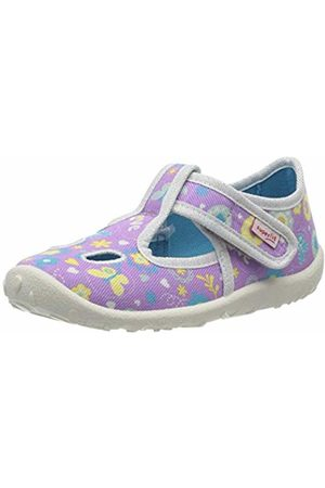 Superfit Girls' Spotty Low-Top Slippers, (Lila 90)