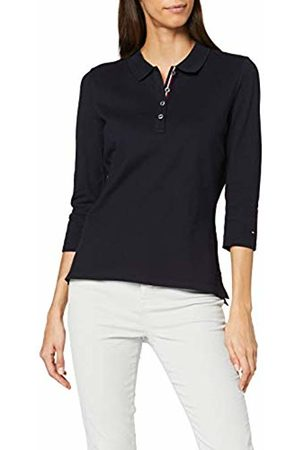 Tommy Hilfiger Women's New TH Essential Polo 3/4 SLV Shirt