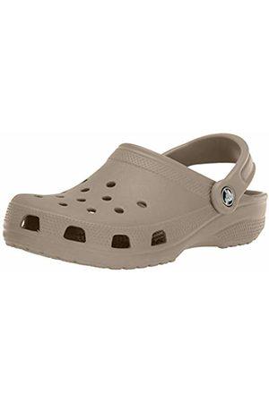 Crocs Unisex-Adult's Classic Clogs , (Khaki)