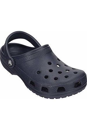 Crocs Unisex Kid's Classic Clogs, (Navy)