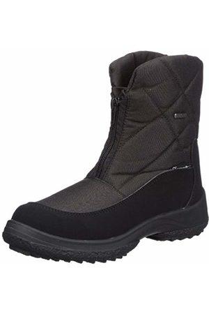 Manitu Womens Polartex Snow Boots Schwarz (Schwarz 1) Size: 37
