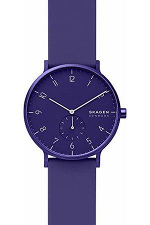 Skagen Mens Analogue Quartz Watch with Silicone Strap SKW6542