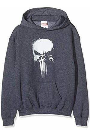 Marvel Boys Hoodies - Boy's Knights Paintspray Skull Hoodie