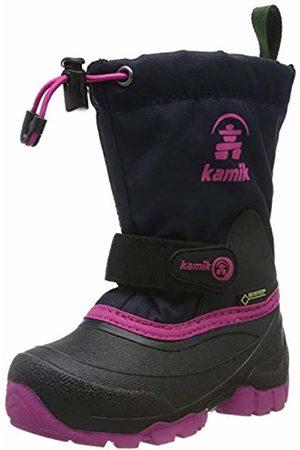 Kamik Girls' Waterbug9g Snow Boots, (Navy Rose Nro)
