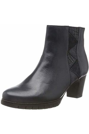 Gabor Shoes Women's Comfort Basic Ankle Boots, (Ocean (Micro) 56)