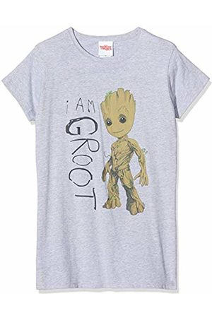 Marvel Women's Guardians of The Galaxy Vol.2 I Am Groot Scribbles T - Shirt