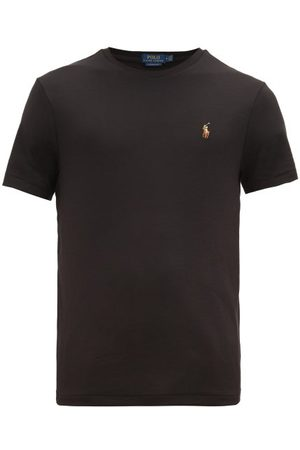 Polo Ralph Lauren Custom Slim-fit Logo-embroidered Cotton T-shirt - Mens