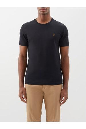 Polo Ralph Lauren Men Short Sleeve - Custom Slim-fit Logo-embroidered Cotton T-shirt - Mens