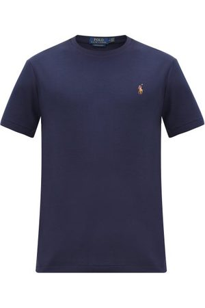 Polo Ralph Lauren Polo-embroidered Cotton-jersey T-shirt - Mens