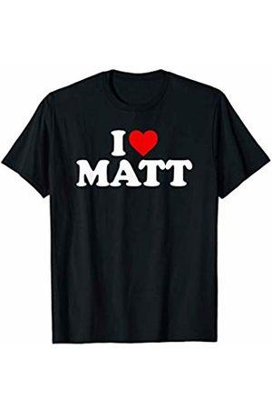 Matt Gifts I Love Matt - Heart T-Shirt