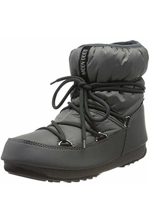 Moon-boot Unisex Adults Low Nylon Wp Snow Boots, (Grigio 006)