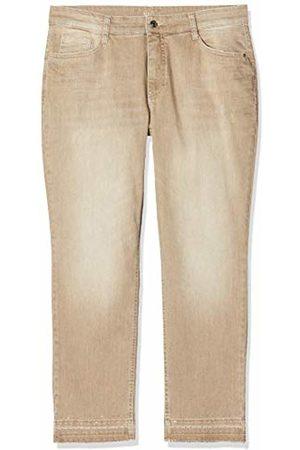 Mac Women's Melanie Pipe Fringe Glam Straight Jeans
