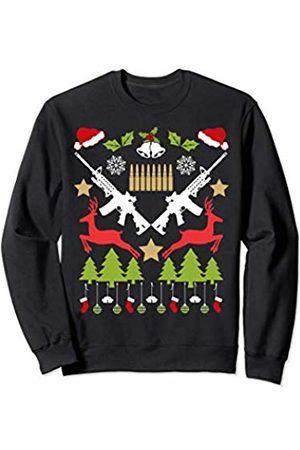 Holiday Gun Lover Merch Christmas Gun Lover Gift Holiday Men Long Sleeve T-Shirt Sweatshirt