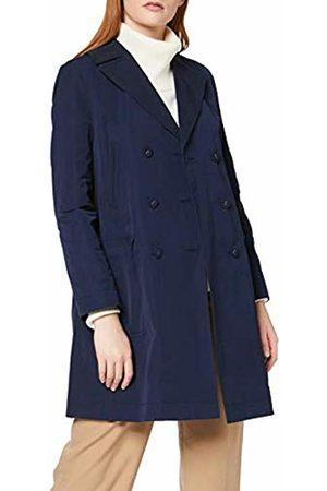 Tommy Hilfiger Women's Beverly DB Long Jacket, (Peacoat)