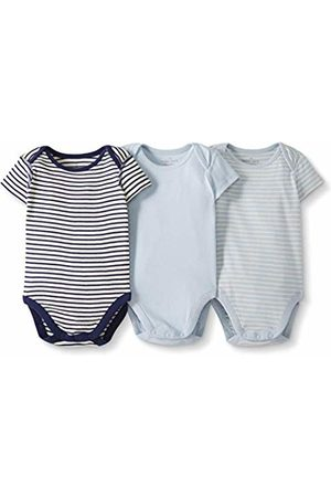 Moon and Back by Hanna Andersson Moon and Back 3 Pack Short Sleeve Bodysuit T-Shirt Set