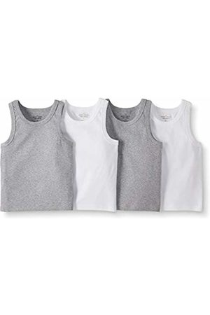 Moon and Back by Hanna Andersson Moon and Back 4 Pack Muscle Tank Base Layer Top