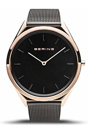 Bering Unisex Adult Analogue Quartz Watch with Milanese Strap 17039-166