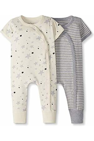 Moon and Back by Hanna Andersson Moon and Back 2 Pack Romper Layette Set