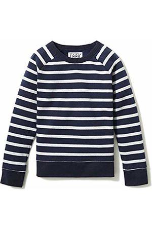 LOOK by crewcuts Girls Sweatshirts - Crewneck Raglan Sweatshirt