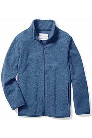 Amazon Boys' Full-zip Polar Fleece Jacket Heather