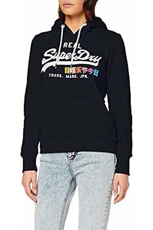 Superdry Women's Vintage Logo Pop Entry Hood Sports Hoodie