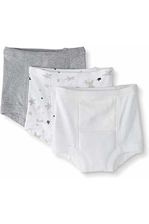 Moon and Back by Hanna Andersson Moon and Back 3 Pack Training Underwear Gray