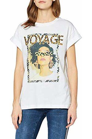 Rich & Royal Women's T-Shirt Mit Leo Voyage Druck