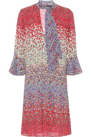 Etro Floral stretch-crêpe minidress