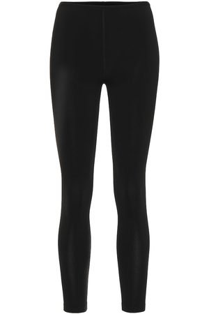 Alaïa Women Skinny Trousers - Stretch-knit skinny pants