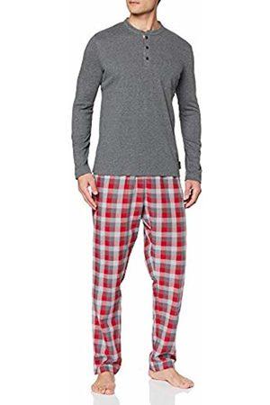 LVB Men's Interlock+Woven Pyjama Set